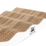 Экологичная когтеточка - лежанка из картона Lounge